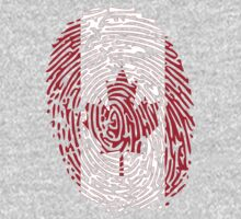 Flag of Canada thumbprint by nadil