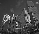 Corner of Spring St and Collins St, Melbourne by Andrejs Jaudzems