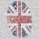 Flag of uk thumbprint by nadil