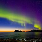 Sunset &amp; Auroras by Frank Olsen