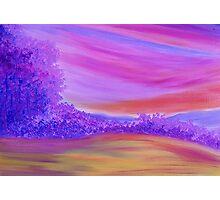 Purple Forest. Photographic Print