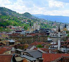 Old Town of Sarajevo II by HELUA