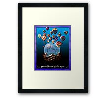 The Great Reno Balloon Races Framed Print