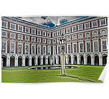 Hampton Court - Inner Courtyard Poster
