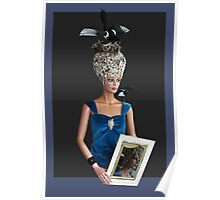 Bling bling Lady head gear #7 Poster