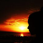 Sunset Silhouette by jlv-