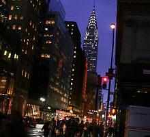 New York - Chrysler Building View by Christopher Herrfurth