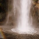 Water fall and rainbow by bobby1