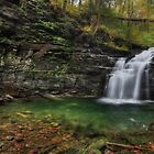 Big Falls - Heberly Run by Lori Deiter