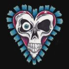 Skull Heart by slugnola