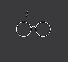 Harry Potter Minimalist by Nick Symeou