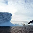 Iceberg &amp; Icebreaker  Antarctica by geophotographic