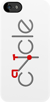 cycle (grey/red) by Benjamin Whealing