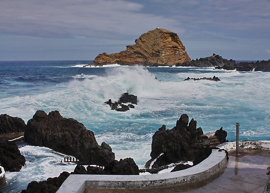 Rock Pools in Madeira by AnnDixon