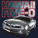 Hawaii 5-0 Camaro (Red Outline) by Sharknose