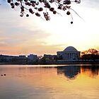 Easter Morning at the Jefferson Memorial by debidabble