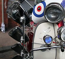 Lambretta SX200 parked and proud. by Phil Bower