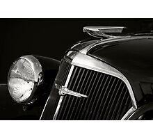 1937 Chevy Photographic Print