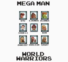 Mega Man - World Warriors by Bigheadblue