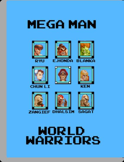 Mega Man - World Warriors by Bigheadblue