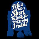 Droid &quot;Life is too Short&quot; Series by zerobriant