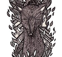 Tribal Doe by samclaire