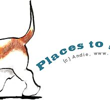 Basset Hound :: Places to Go People to Sniff by offleashart