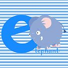 e for elephant by alapapaju