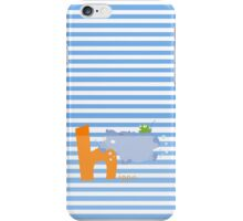 h for hippo iPhone Case/Skin