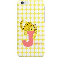 j for jaguar iPhone Case/Skin
