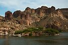 Canyon Lake Apache Trail AZ  by John  Kapusta