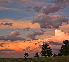 Mountain Afterglow 2 by Kim Barton