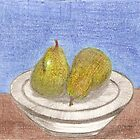 Pears in the bowl  by Mary56