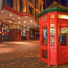 RED PHONE BOX by Lynden