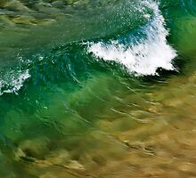 Wave action at North Curly by Fran53