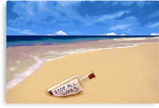 Message in the bottle by Albert
