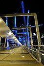 kurilpa bridge, brisbane, queensland, australia by gary roberts