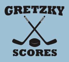 Gretzky Scores by Dan Heisel