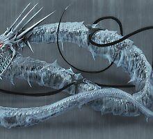 Mecha-Ice-Dragon by Adam Howie