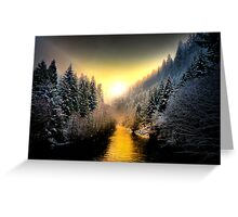 My Kind Of Place ~ Upper McKenzie River ~ Greeting Card