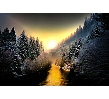 My Kind Of Place ~ Upper McKenzie River ~ Photographic Print