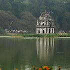 Hoan Keim Lake, Hanoi, Vietnam by mechelle142