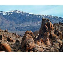 Across Owens Valley - U.S. Highway 395 California Photographic Print