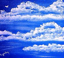 Fluffy Clouds, by WhiteDove Studio kj gordon