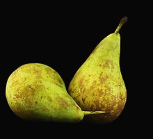Pears on Black by photoshot44