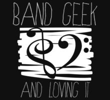 Band Geek Pride! Kids Clothes