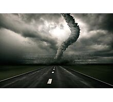 Tornado the anger of Nature Photographic Print
