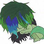 Baby Chompy a'sleepin' by ChompyZombie