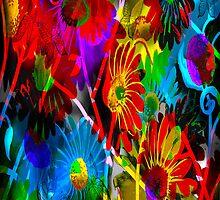 """Butterflies & Daisies""~ iPhone case by Steve Farr"