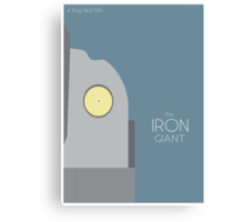 The Iron Giant Canvas Print